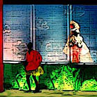 Chamber Opera stage picture: Rossini in 1992 (stage illustration documentation)